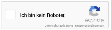 Captcha - kein Roboter